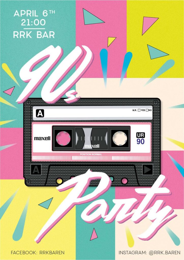 The 90s Party - April 2019